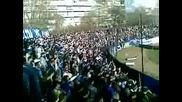 Levski ultras in Varna