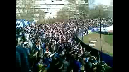 Levski ultras in Varna