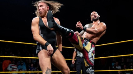 Ricochet vs. Pete Dunne - Champion vs. Champion Match: WWE NXT, Sept. 19, 2018