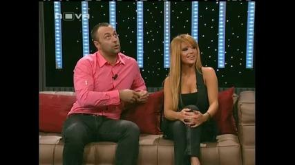 Dj Дамян и Ваня в шоуто на Иван и Андрей Част1