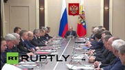 Russia: Putin orders review of threats to nuclear and industrial facilities