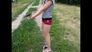 Девушка со стволом