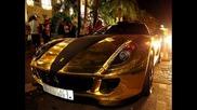 New* Златно Ferrari 599 Gtb