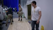 The Force Awakens Behind The Scenes - Making of The Snow Fight Part 2