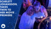 Scarlett Johansson takes grandma lookalike to premiere