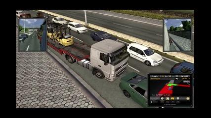 Euro Truck Simulator Епизод 5 (themorfeiii)нов Камион :d :d :d
