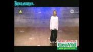 *изумително* - 11 - Годишно Момиче Танцува , така като , чели няма (кости) - [страхотно]