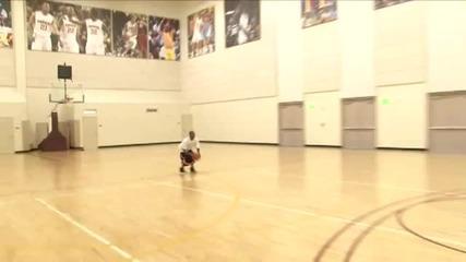 Soulja Boy Tell Em shoots from half court