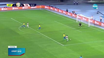 Бразилия e на финала на Копа Америка