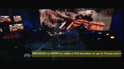 Jon Bon Jovi Who Says You Can't Go Home Livin' On A Prayer - Hurricane Sandy Relief Telethon