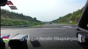 """Шофьор с """" Lamborghini Нuracan """" зверски катастрофира на магистрала с 333 км/ ч , но остава жив!"""