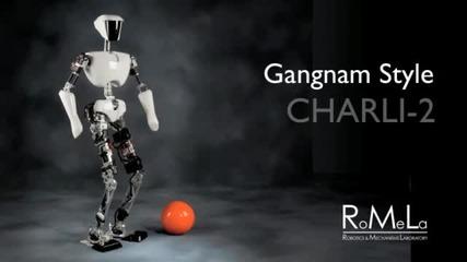 Робот танцува песента ''gangnam Style