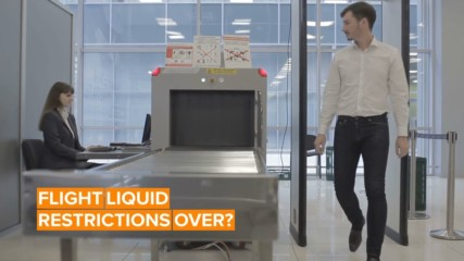 The airport rules on liquid may end with new tech