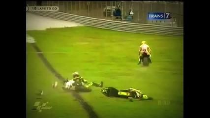 Marco Simoncelli Deadly Crash Motogp Sepang 2011