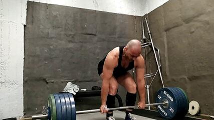 2020.06.17 - Мъртва тяга - тройка на 204 кг