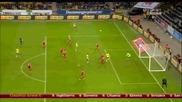 Швеция 2:0 Лихтенщайн ( квалификация за Европейско първенство 2016 ) ( 12/10/2014 )