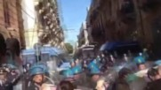 Italy: Violent clashes erupt in Palermo as hundreds protest against Renzi