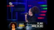 Music Idol 3! Изпълнението на малакта Симона!