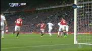 ВИДЕО: Уникалният гол на Бентеке срещу Манчестър Юнайтед
