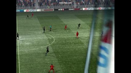 Голът на Робен - Fifa 11