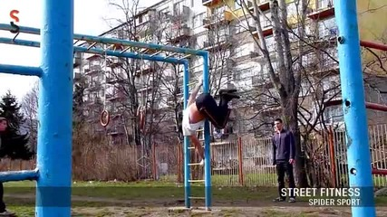 Street Fitness by Spider Sport!