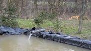 Гениално изобретение за снабдяване с вода от река
