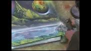 картина нарисувана със спрей