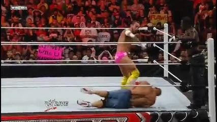 Cm Punk & R-truth vs. John Cena & Rey Mysterio 5.23.11