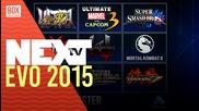 NEXTTV 021: EVO 2015 Teaser