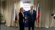 Serbia: Lavrov and Mogherini meet on sidelines of OSCE conference