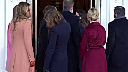Джо Байдън пристигна в Белия дом
