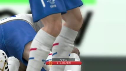 гол на Fifa 12