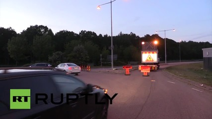 Sweden: Forensics team recover body from Gothenburg car explosion