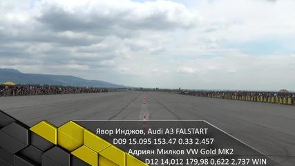 Явор Инджов Audi A3 vs Адриан Милков Vw Golf mk2