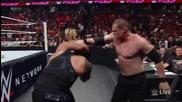Roman Reigns vs. Seth Rollins & Kanе/ Роумън Рейнс ср. Сет Ролинс & Кейн
