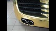 Audi R8 gold Hexis