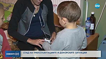 Спад на трансплантациите и донорските ситуации в България