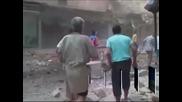 Десетки жертви и ранени при въздушно нападение в Алепо