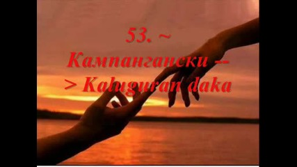 Обичам те на 1о4 езика