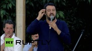 """Italy: """"We should have dialogue and trade with Russia, not play war""""- Lega Nord leader"""