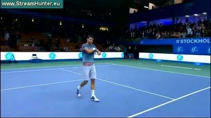 Григор Димитров на финал след победа над Беноа Пер !