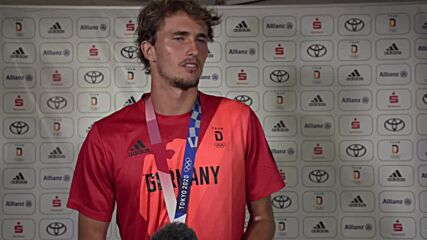 Japan: 'Unbelievable moment' - Germany's Alexander Zverev shares joy on Tokyo tennis gold