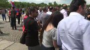 Арменци празнуват решението на Бундестага