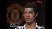 Cristiano Ronaldo Interview - 25 - 01 - 08