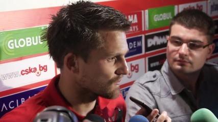 Черни: ЦСКА е най-големият клуб, готов съм да бъда титуляр