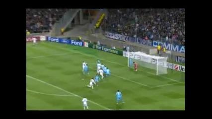 Olympique Marseille 1 - 3 Real Madrid (cristiano Ronaldo amazing free kick) [cr9]