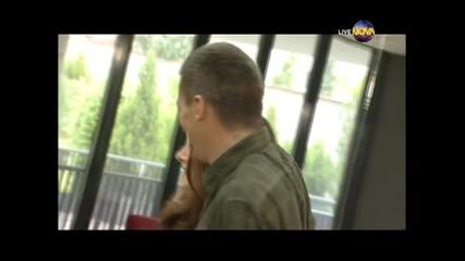 Dancing Stars - Александра Жекова и Симеон Тимов куикстеп (22.04.2014г.)
