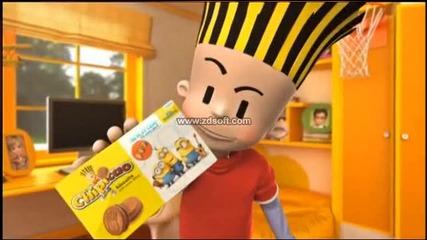 Реклама на Chipicao - нов кроасан и нови бисквити с чипове