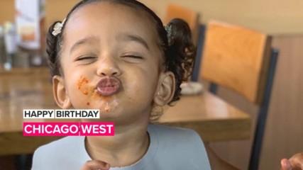 Watch Chicago West reveal her birthday wish