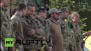 Ukraine: Azov celebrates anniversary of its formation